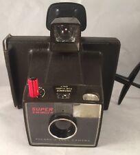 Cámara Polaroid Land Instamatic súper swinger Negro y Blanco. Coleccionable.