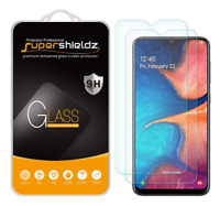 Supershieldz for Samsung Galaxy A20 Tempered Glass Screen Protector Anti Scratch