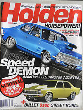 holden horse power magazine issue number 1 vgc poster not removed.