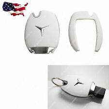 Mercedes Benz Remote Smart Key FOB Matte White Cover Case Skin Shell Cap