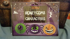 Halloween Tesco's Honeycomb Character Decorations free UK p&p