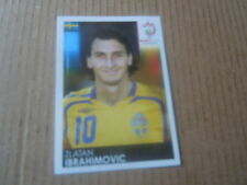 Vignette panini - Euro 2008 - Autriche Suisse - N°406 - Zlatan Ibrahimovic Suède