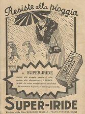 W6953 Super-Iride Marrone - Resiste alla pioggia - Pubblicità 1925 - Advertising