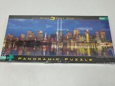 New York City Skyline Sept 11 Memorial Panoramic Puzzle 750 Piece Buffalo Games