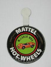 Redline Hotwheels Original Metal Button US McLaren M6A R3469