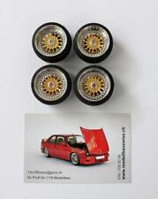 BBS RS 15 Zoll Gold 1/18 Tuning Umbau 1zu18