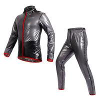 NEW Bicycle Bike Cycling Windcoat Raincoat Waterproof Windproof Jacket Pant Set