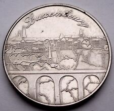 LUXEMBOURG HERITAGE Collectors Coin, Panorama city Token 31mm 13g Alpaca E18.2
