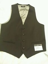 marc ecko fit vest black
