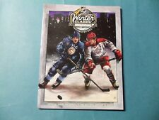 2011 Winter Classic program  Pittsburgh Penguins vs Washington Capitols