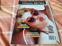 Cinema Retro 27 NEW - Amicus Edgar Rice Burroughs films, Peter Cushing interview