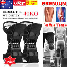 2PCS Leg Power Knee Stabilizer Pads Patella Booster Spring Knee Brace Support