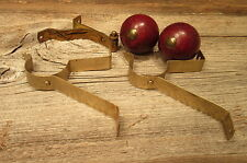"Vintage Wood 1 1/2"" Curtain Rod Cottage Rod Ends Finials & Hangers"