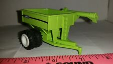 1/64 ERTL CUSTOM FARM TOY PARKER 500 BU GRAIN CART CORN WAGON ON FLOATER DUALS