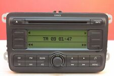 SKODA FABIA DANCE CD RADIO PLAYER CAR STEREO CODE 2008 2009 2010 2011 2012