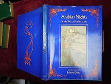 ARABIAN NIGHTS by LAURENCE HOUSMAN/EDMUND DULAC/BIG 1981 1st