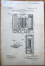Telephone US Patent 1905 Print & Document-ORIGINAL- Substation Signal Instrument