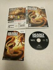 Deadly Creatures  Nintendo WIi Complete Game