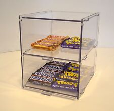 Small Bakery Pastry Display Case Stand Cabinet Cakes  Cupcakes - Two Tiers