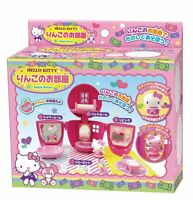 New Hello Kitty Apple Doll House & Kitty Figure Japan