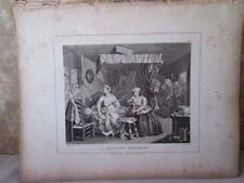 Vintage Print,HARLOTS PROGRESS,Plate 3,Hogarth,1807