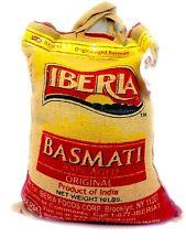 Iberia Basmati Rice, 10 Pound, Extra Long Grain, Naturally Aged , Exp 10/21