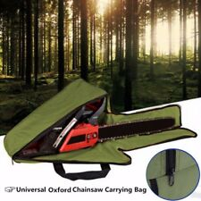 20'' Green Chainsaw Chain Saw Carrying Bag Case Protective Holdall Holder Box