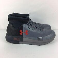 b6e8d5ecbfc8 Under Armour Mens Horizon 50 Anthracite Zinc Gray Hiking Shoes Size 10