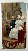 1890s Antique Print Marie Antoinette Going To Her Execution