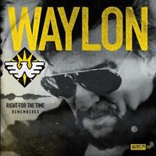 "Waylon Jennings - Right For The Time (Remembered) (NEW 12"" VINYL LP)"