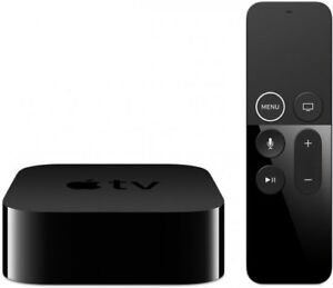 Apple TV 4K 64GB Media Streamer Siri Remote HDMI Wi-Fi Bluetooth LAN MP7P2HB/A