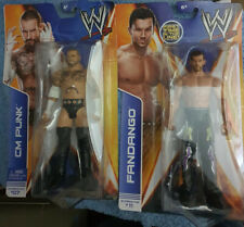 Wwe mattel cm punk and fandango set of 2 figures