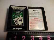 BIG SLICK  C  ZIPPO 13  LIGHTER MINT IN BOX