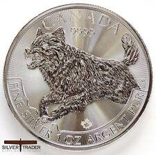 2018 1oz Canadian Silver wolf 1 ounce Silver Bullion Coin unc: