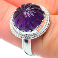 Amethyst 925 Sterling Silver Ring Size 7.5 Ana Co Jewelry R35081F