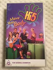 HI 5 - Move Your Body VHS