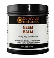 Neem Oil Balm For Psoriasis Eczema Acne Scabiest BIG 4oz