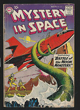 1959 DC Mystery In Space #51 GD to VG