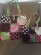 Patchwork quilt bag 2 piece set, handbag