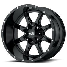 17 Inch Gloss Black Wheels Rims Dodge RAM 2500 3500 Truck 8x6.5 Lug Moto Metal