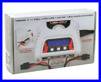 Venom 0683 2-4 Cell AC/DC Lipo Life Battery Balance Charger – Dual 2S Charging