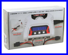 Venom 2-4 Cell AC/DC Lipo Life Battery Balance Charger – Dual 2S Charging 0683
