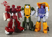 Transformers FinalVictory FV Three Strong Warriors Brawn Warpath Huffer Suit