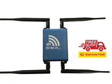 RV WIFI + 4GX 40m Range Media Centre 12V Tablet Portable Internet Caravan 4x4