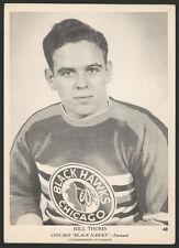 1939 1939-40 1940 V301-1 O-PEE-CHEE HOCKEY CARD ~ #48 ~ BILL THOMS ~ NICE
