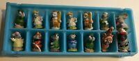 "Lot 14 Vintage Figurines Hallmark RUSS Berrie & Co Mice 1 3/4"""