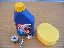 Adrenaline 125 Service Kit  Air Filter Oil Filter Spark Plug  Apache Blade RMR