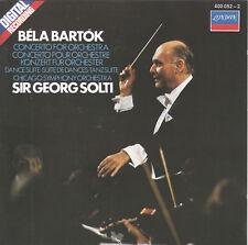 Bart¢k: Concerto for Orchestra; Dance Suite (CD, London) Solti/Chicago Symphony