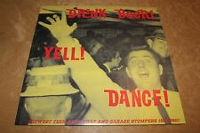 DRINK BEER YELL DANCE 1960s garage punk compilation album Missouri out of print!