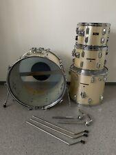 PEARL Wood Fiberglass Drumset / Schlagzeug / Shell Set / Vintage 1970er Jahre